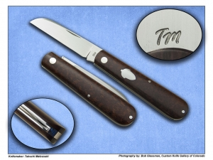 Takeshi Matsusaki – Single Blade Shadow Pattern Sheepsfoot Folder