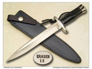 John T. Eriksen Officer Model 12 Fighter