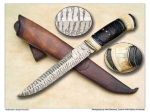 Greger Foselius Scrimmed Warthog & Damascus Fighter