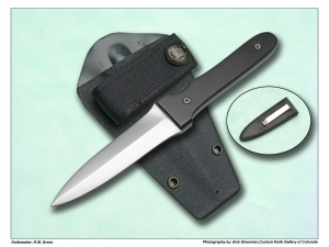 Roger Green  Boot / Throwing Knife