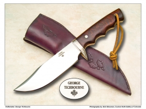 George Tichbourne Ironwood Camp Knife Blade Length: 6.5″