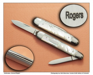 Richard Rogers – Mother of Pearl Two Blade Sleeve board