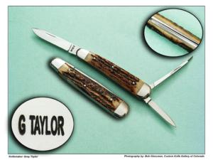 Gray Taylor – Lobster Folder – Sambar Stag