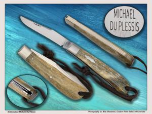 Michael Duplessis Back Pocket Knife Reproduction **Prototype**